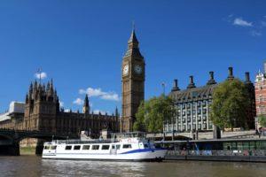 M.V Avontuur IV at Westminster Pier