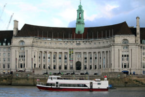 M.V Valulla passing County Hall