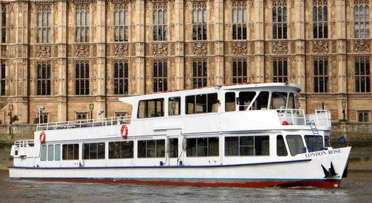 Battersea Park Fireworks Cruises | M.V London Rose | Viscount Cruises