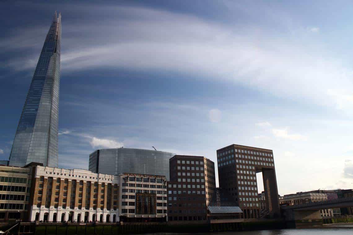 The Shard & London Bridge City