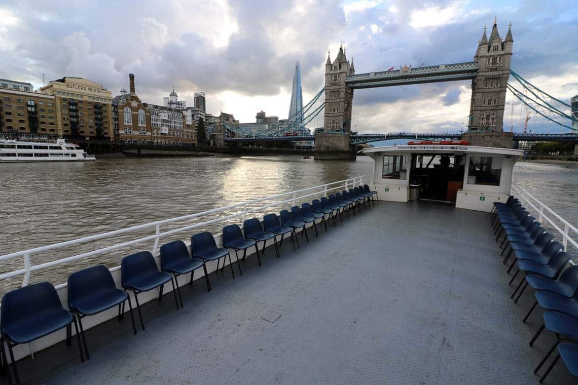 M.V London Rose, Upper Deck