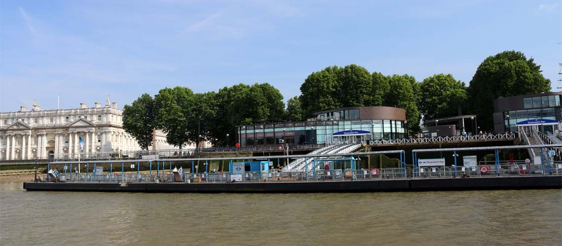 Greenwich Pier, Royal Borough of Greenwich