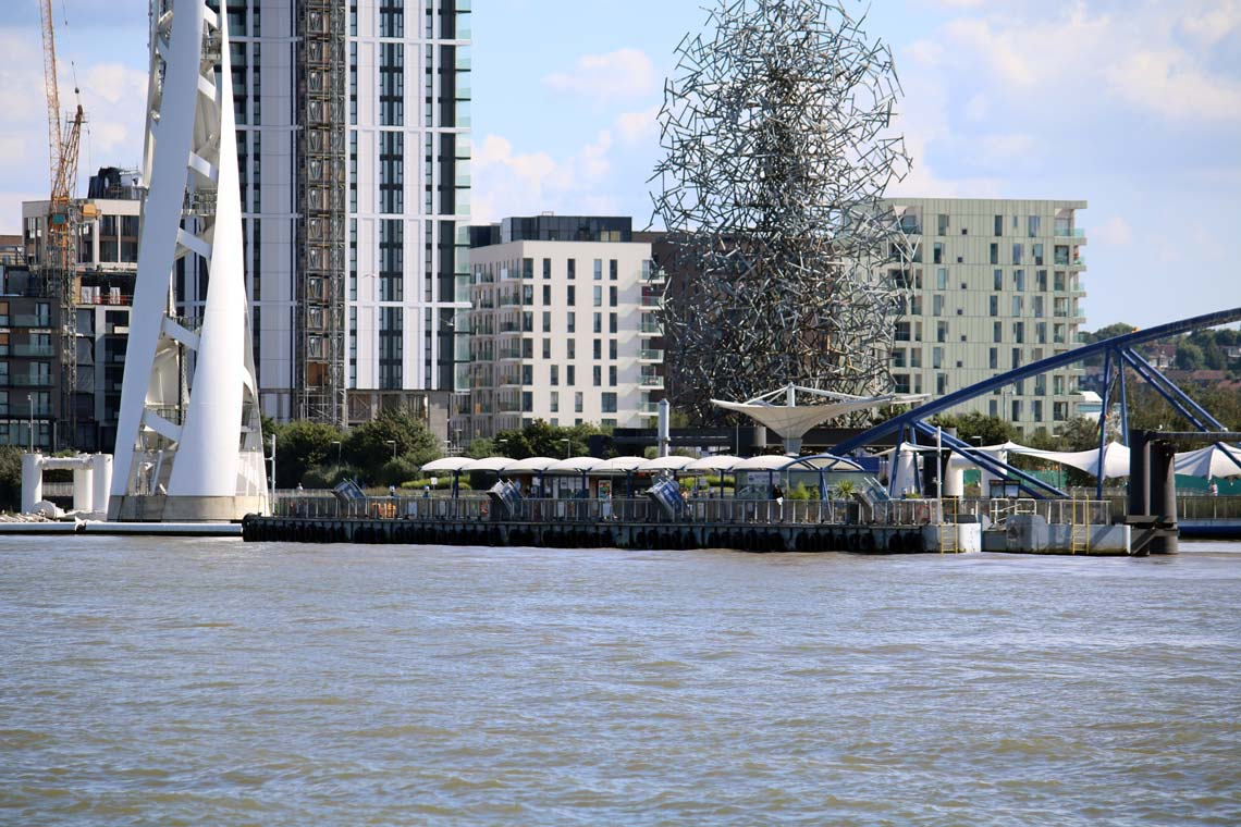 North Greenwich Pier, Greenwich Peninsula | Viscount Cruises