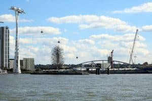Emirates Airline Cable Car & North Greenwich Pier | Viscount Cruises