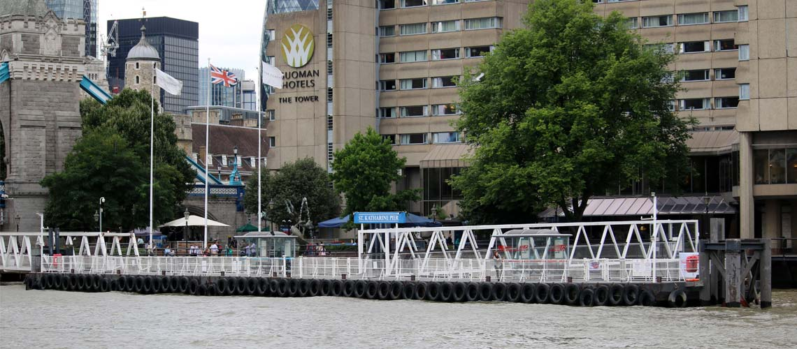 St. Katharine Pier & St. Katharine Docks