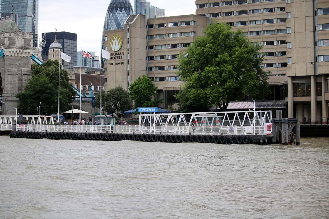 St. Katharine Pier, St. Katharine Docks