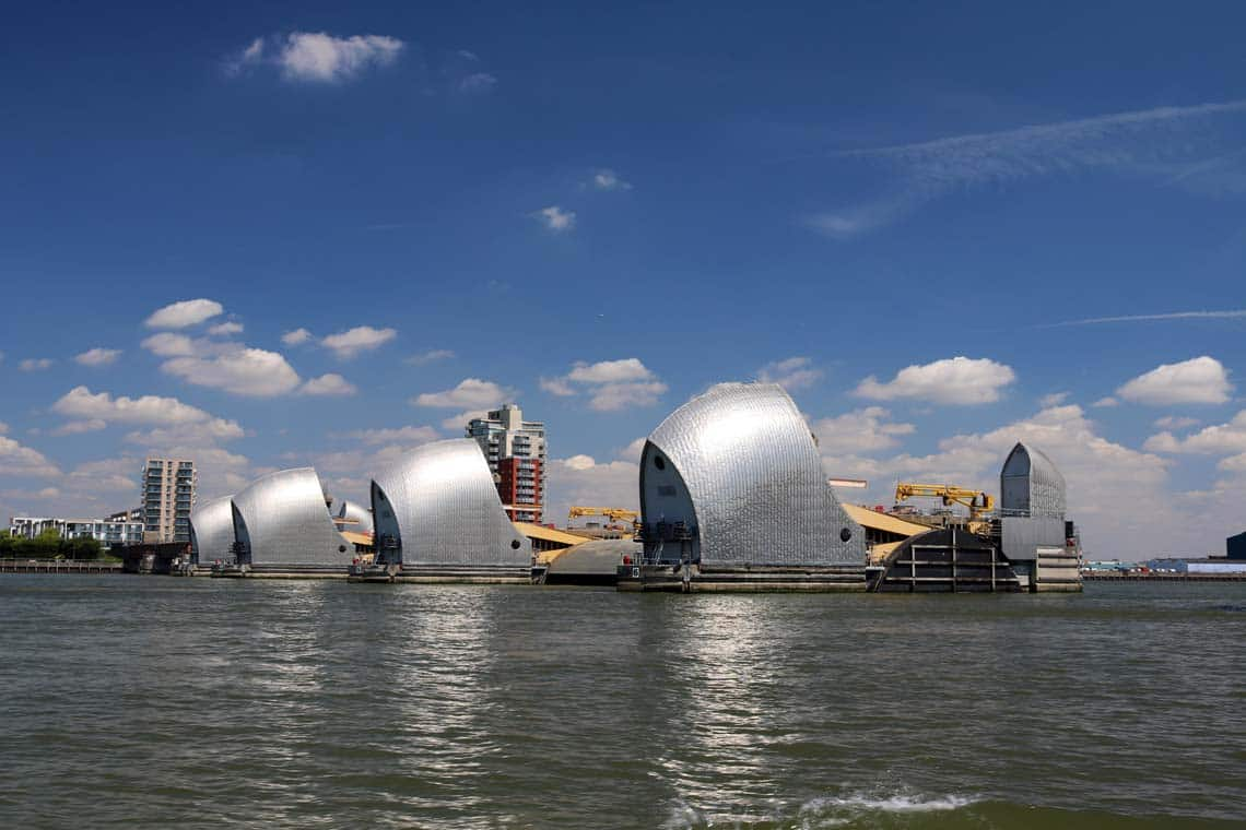 Thames Flood Barrier, Woolwich | Viscount Cruises