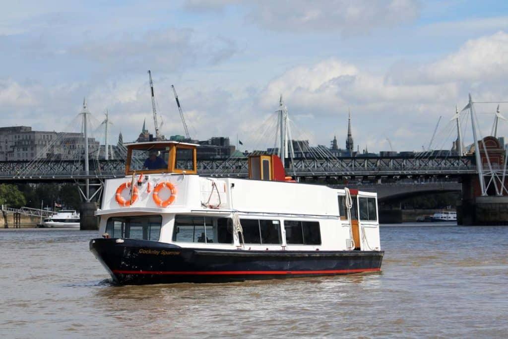 M.V Cockney Sparrow | Viscount Cruises