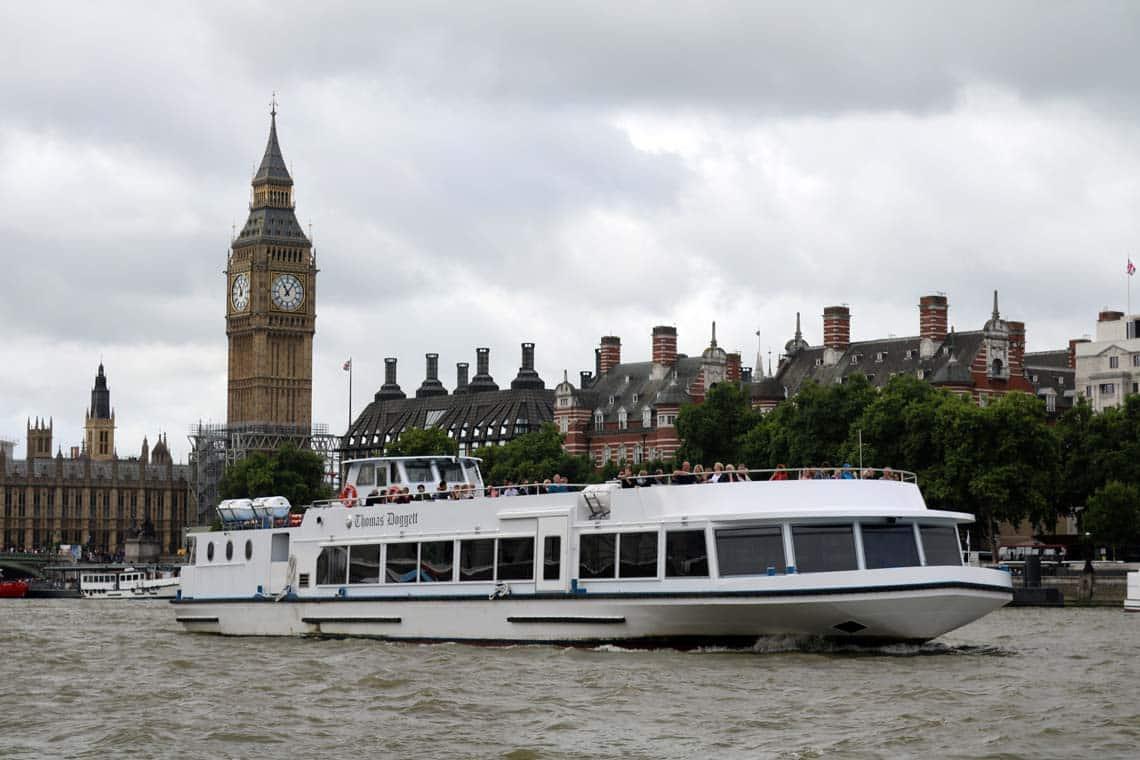M.V Thomas Doggett | Viscount Cruises / Thames River Services