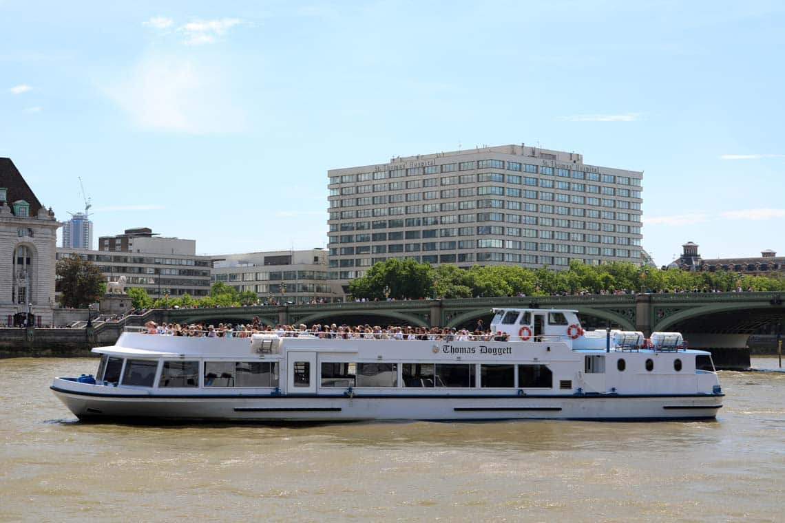 M.V Thomas Doggett | Viscount Cruises / Thames River Services