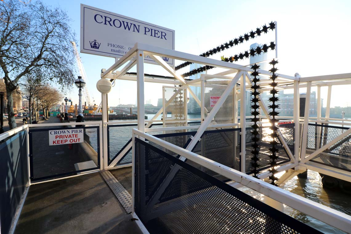 Crown Pier Entrance