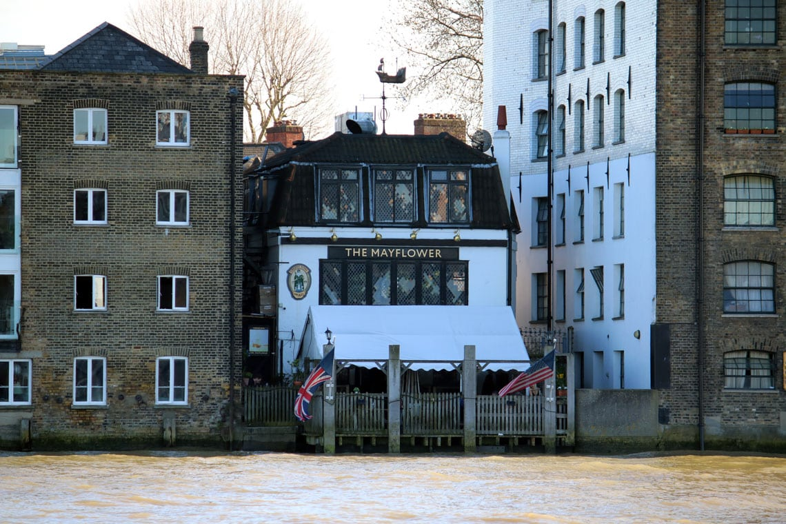 Mayflower Pub, Rotherhithe