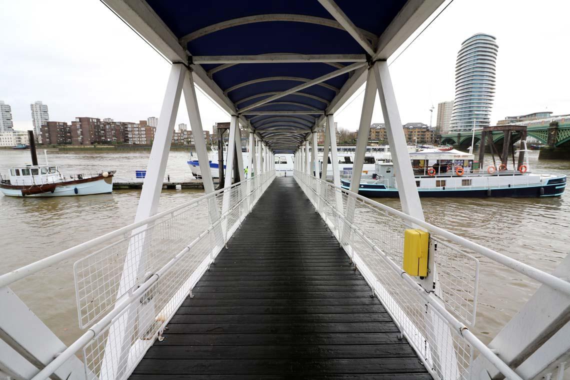 Chelsea Harbour Pier