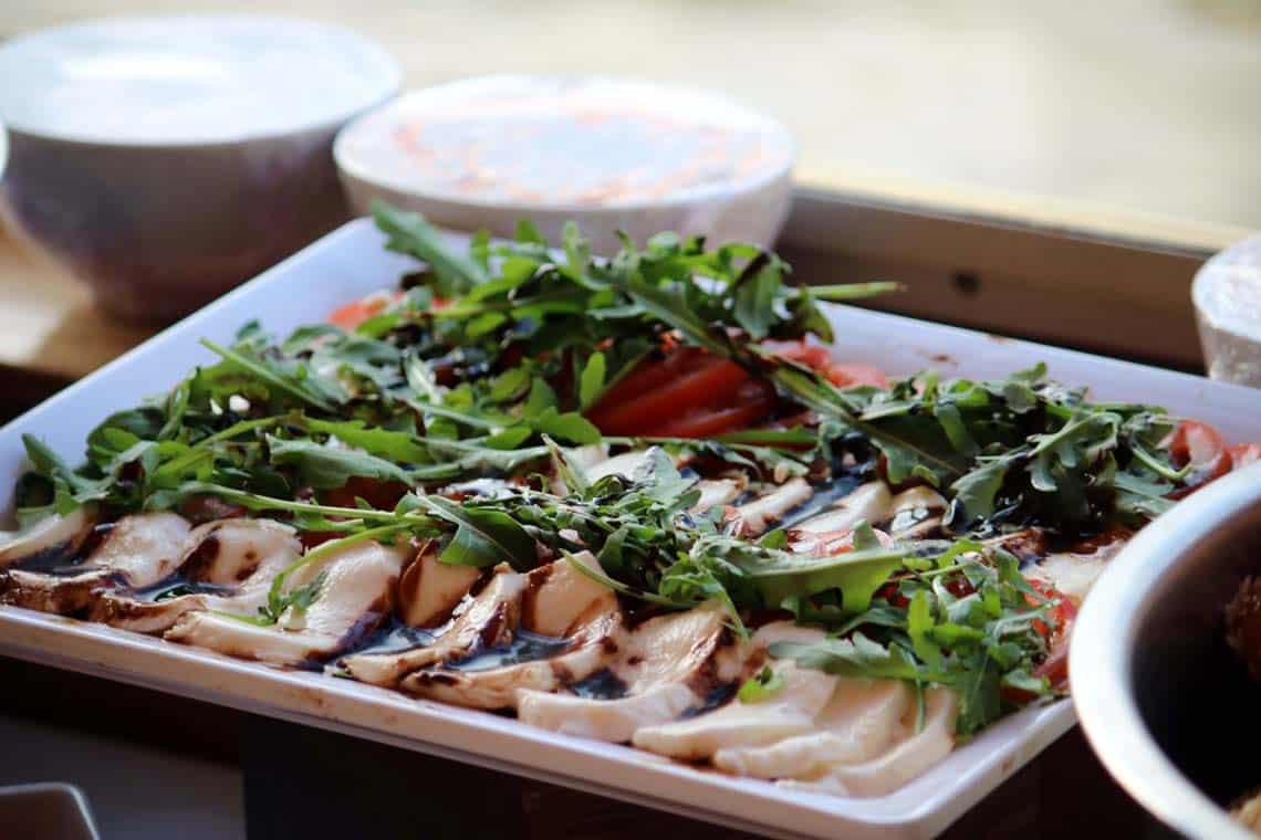 Tomato & Mozzarella Salad