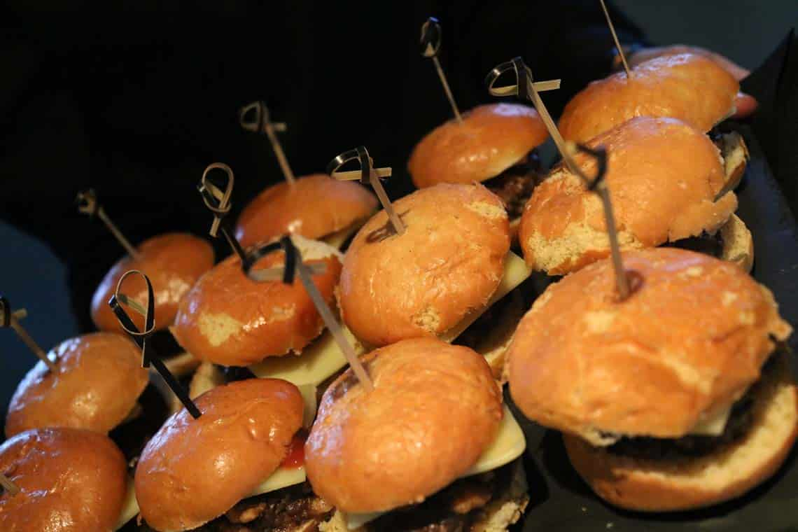 Miniature Burger Sliders