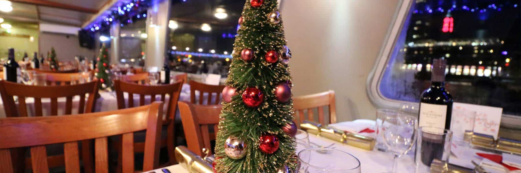 Thames Christmas Parties, Charters & Dinner Cruises