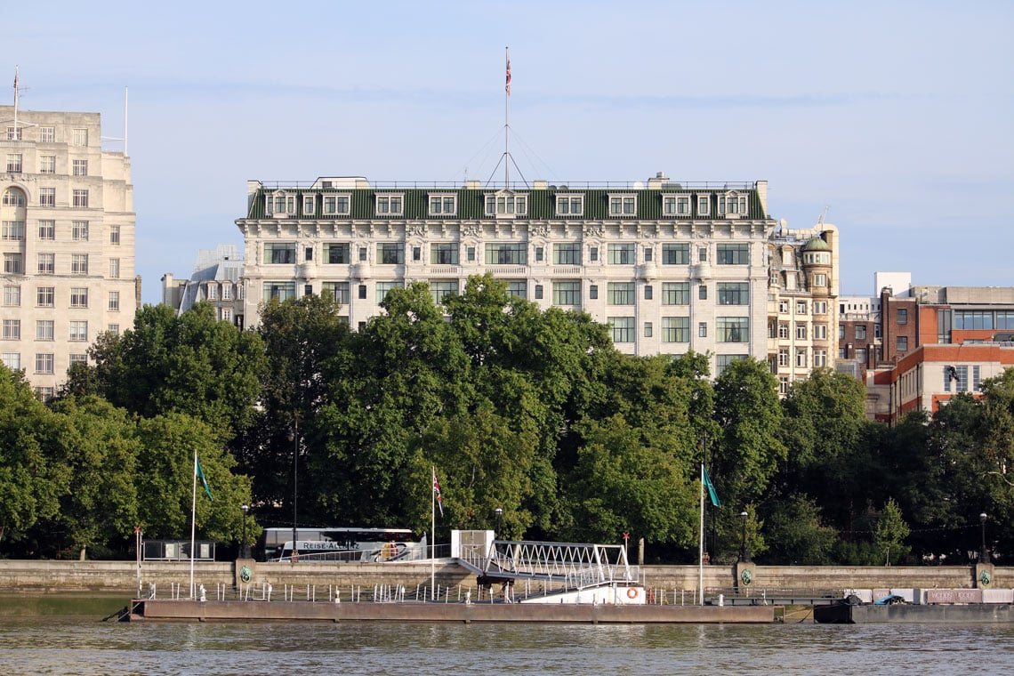 The Savoy Hotel, Victoria Embankment