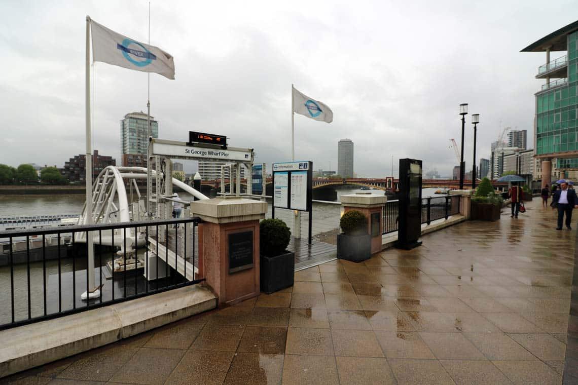 St. George Wharf Pier