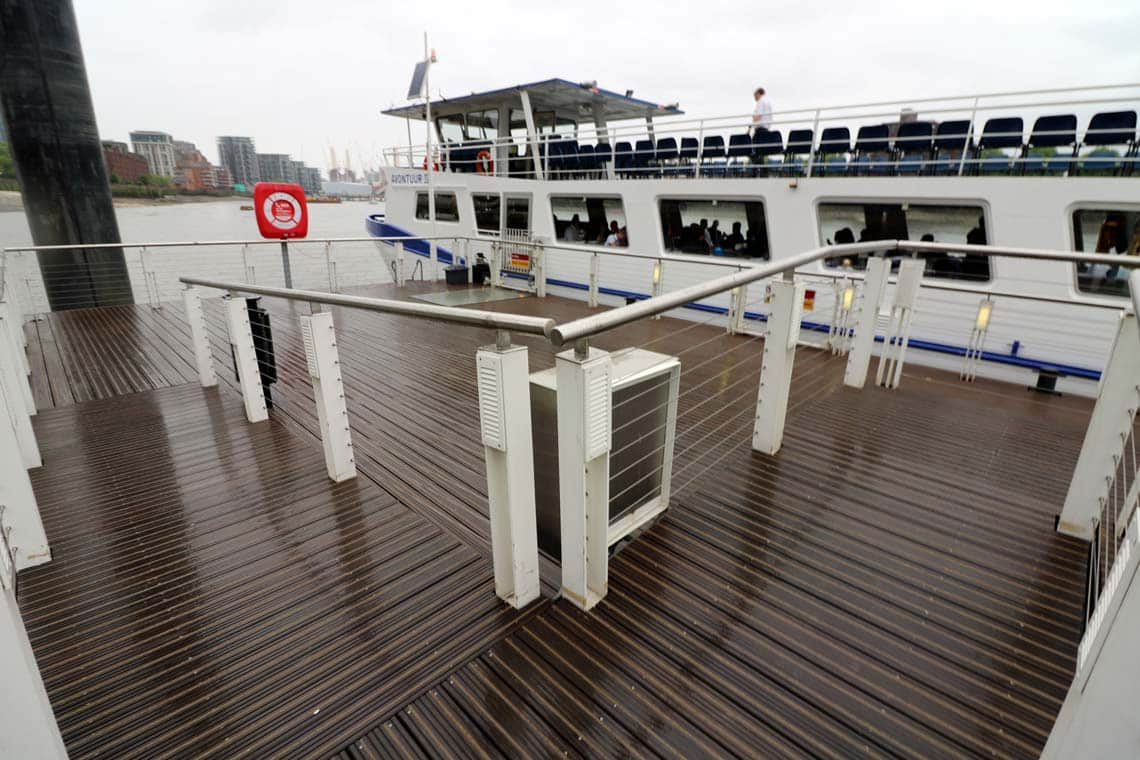 St George Wharf Pier Charters Amp Cruises With Viscount