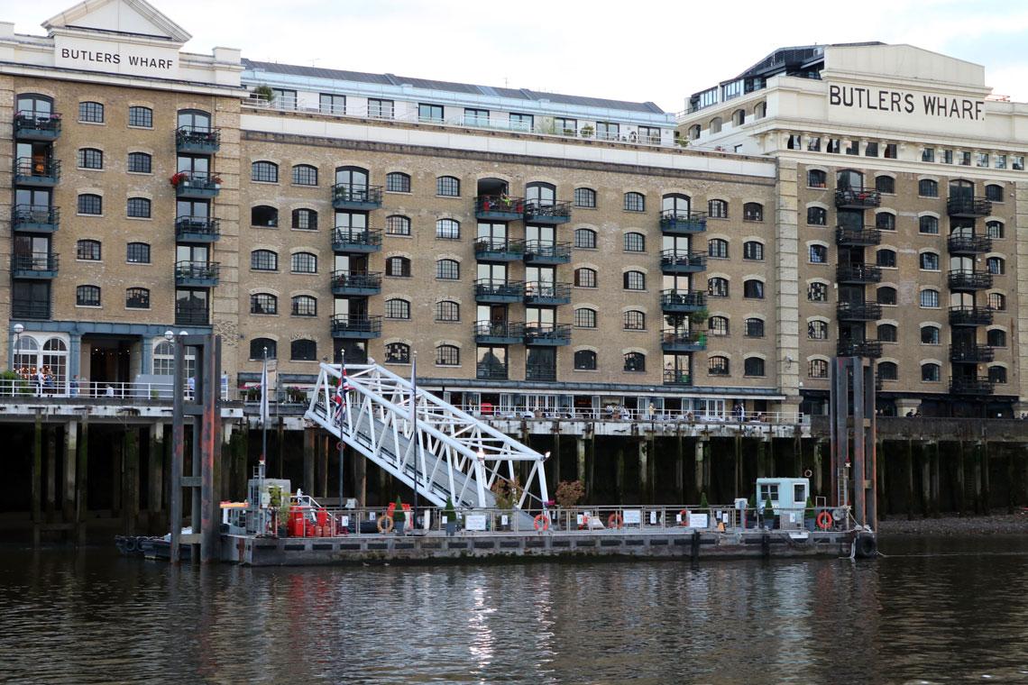 Butlers Wharf Pier