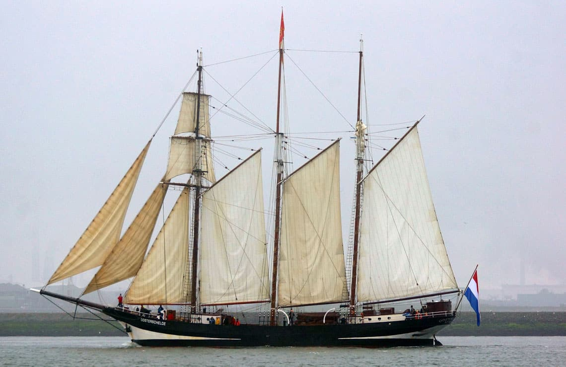 Tall Ship Oosterschelde (Photo by kees torn on Flickr)