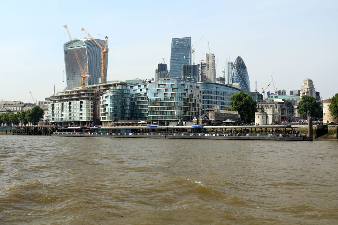 Tower Millennium Pier, City of London