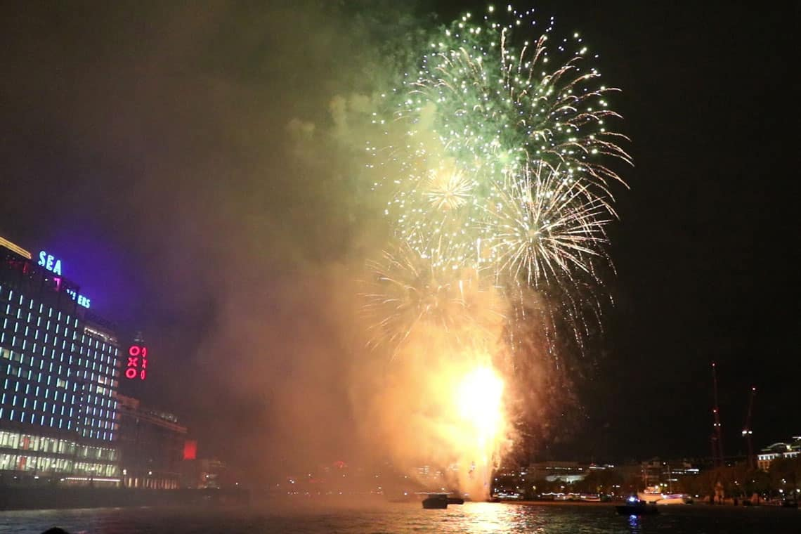 Lord Mayor's Firework Display
