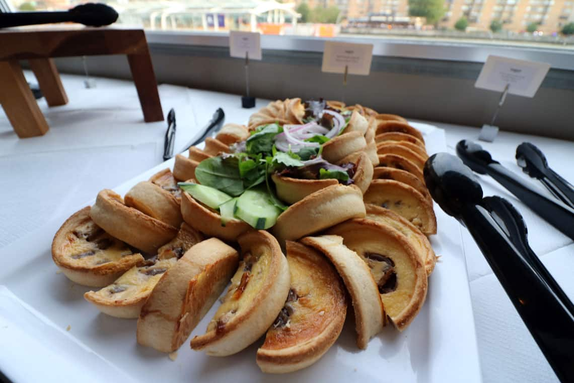 Red Onion Jam & Goats Cheese Tart