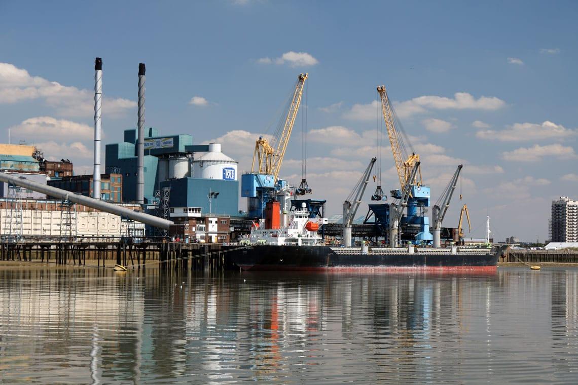 Thames Refinery (Tate & Lyle Sugar), Silvertown, London