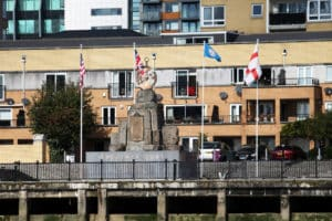 Virginia Quay Settlers Monument