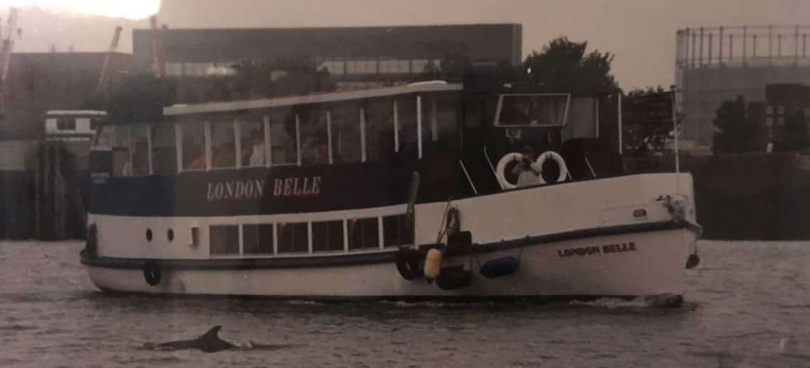 Campion Launches, Viscount Cruises   M.V London Belle