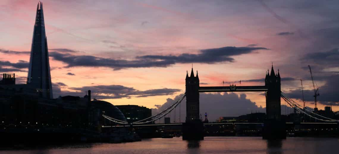 The Shard & Tower Bridge | Viscount Cruises