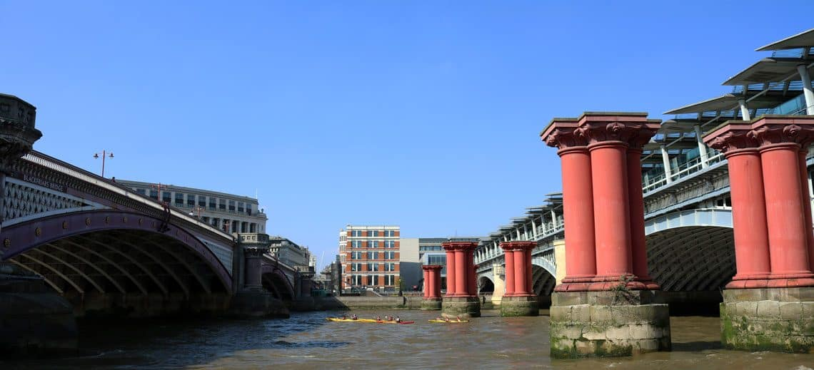 Blackfriars Railway Bridges