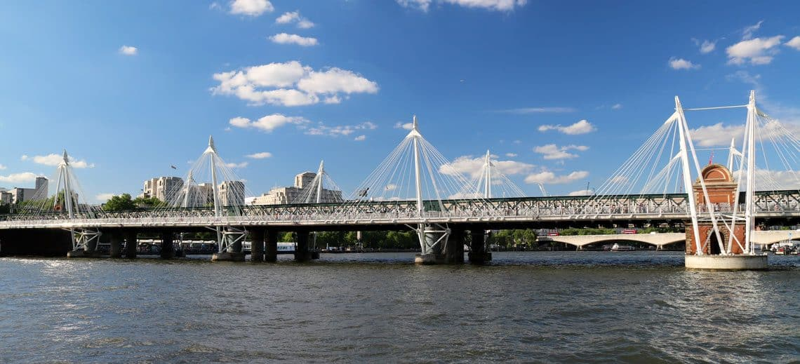 Charing Cross Railway & Golden Jubilee Bridges​