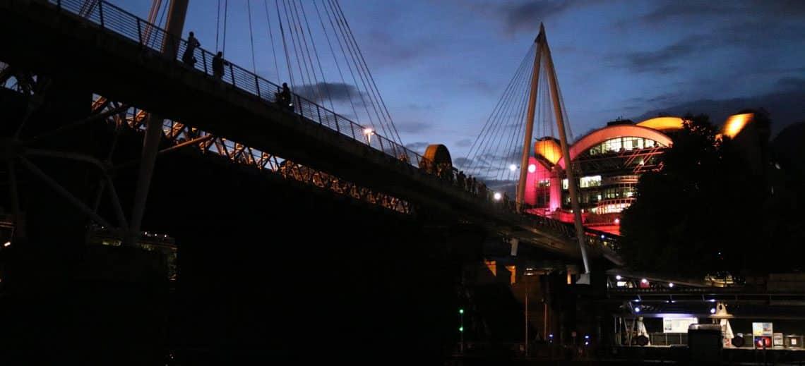 Charing Cross Railway & Golden Jubilee Bridges