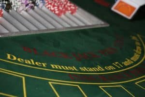 Casino Table, Blackjack