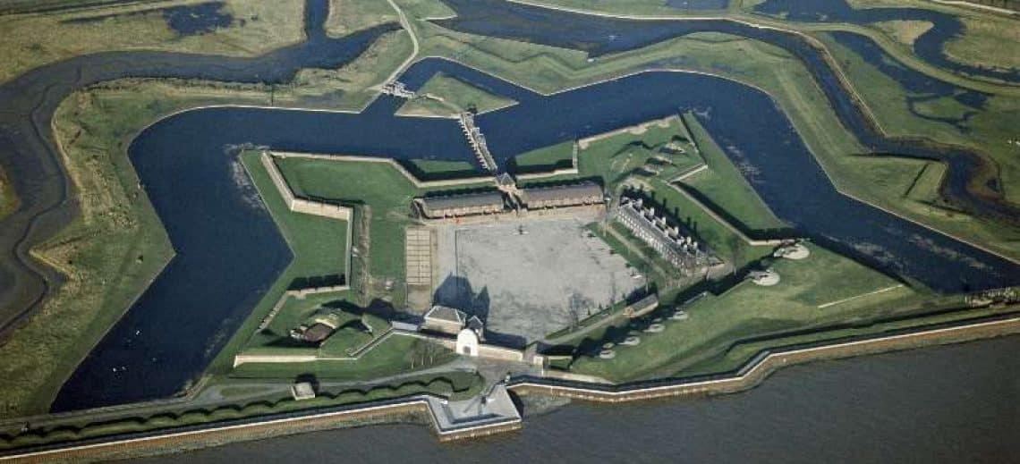 Tilbury Fort (Photo property of English Heritage)