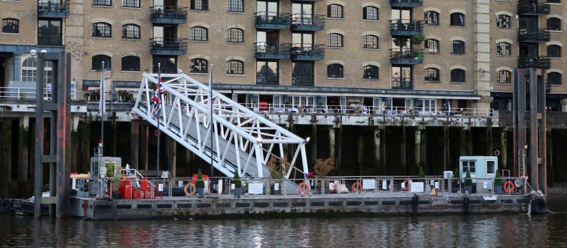 Butlers Wharf Pier, Shad Thames. London