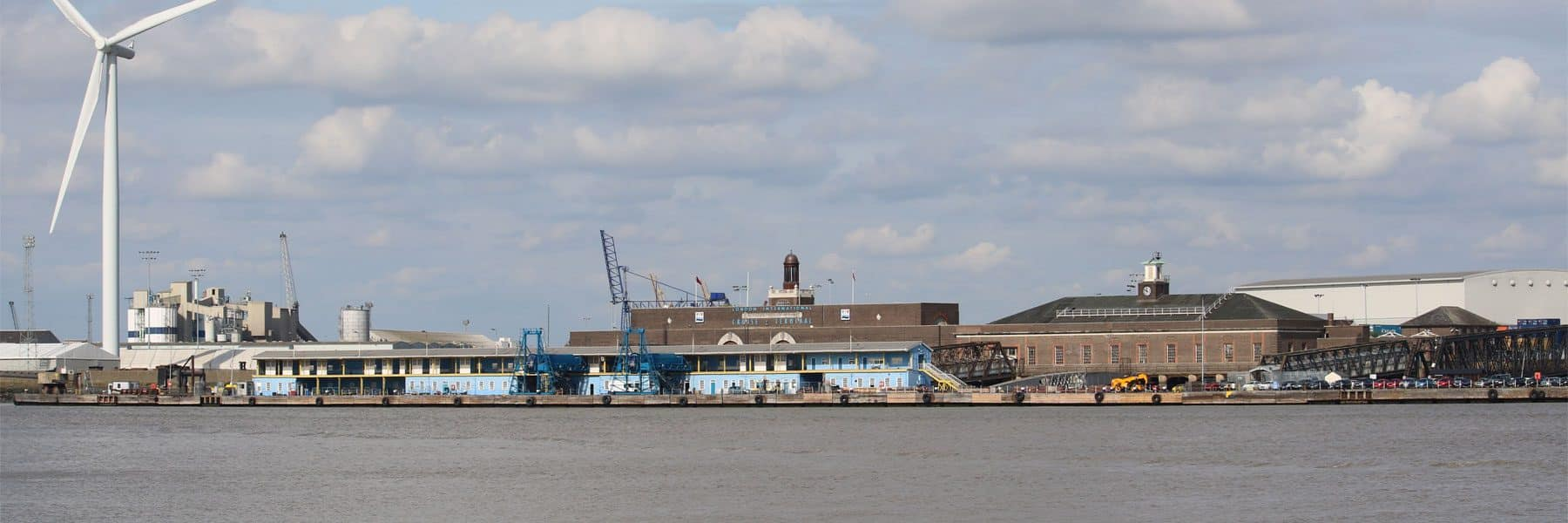 London International Cruise Terminal, Tilbury