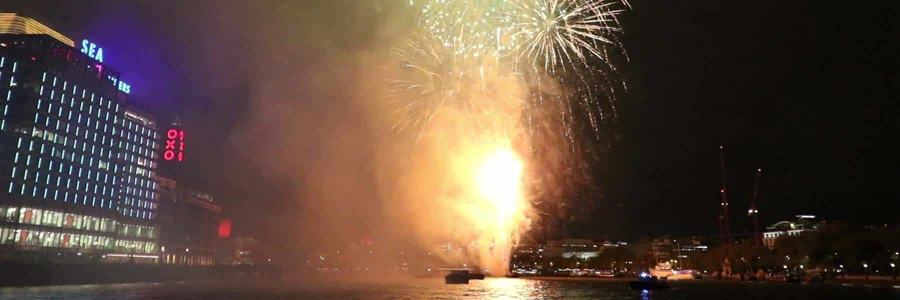 Lord Mayor's Fireworks Display