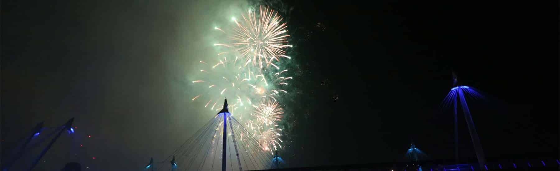 New Year's Eve Cruises, Firework Display