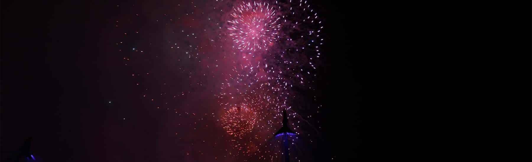 New Year's Eve Cruises, Firework Display