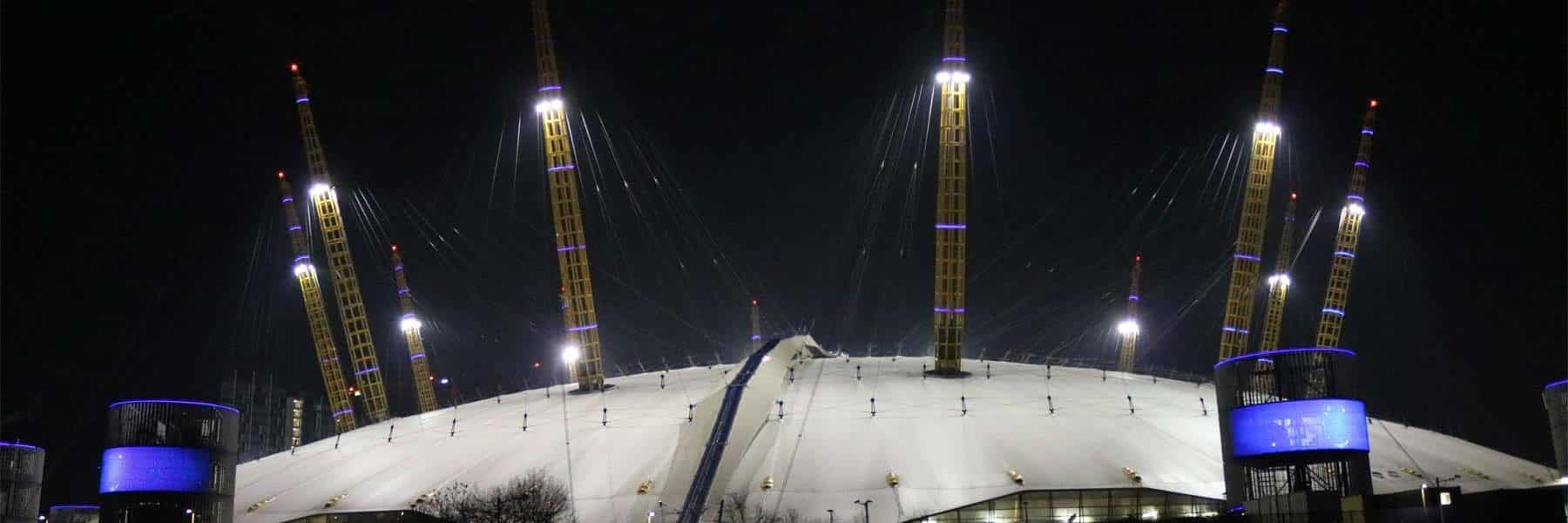 The O2The O2, Greenwich Peninsula, Royal Borough of Greenwich