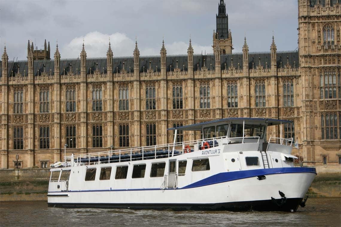Our Fleet, M.V Avontuur IV at Westminster