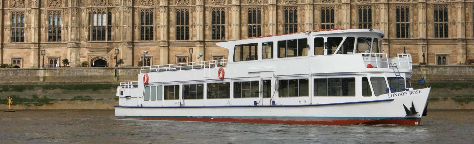 Our Fleet, M.V London Rose at Westminster