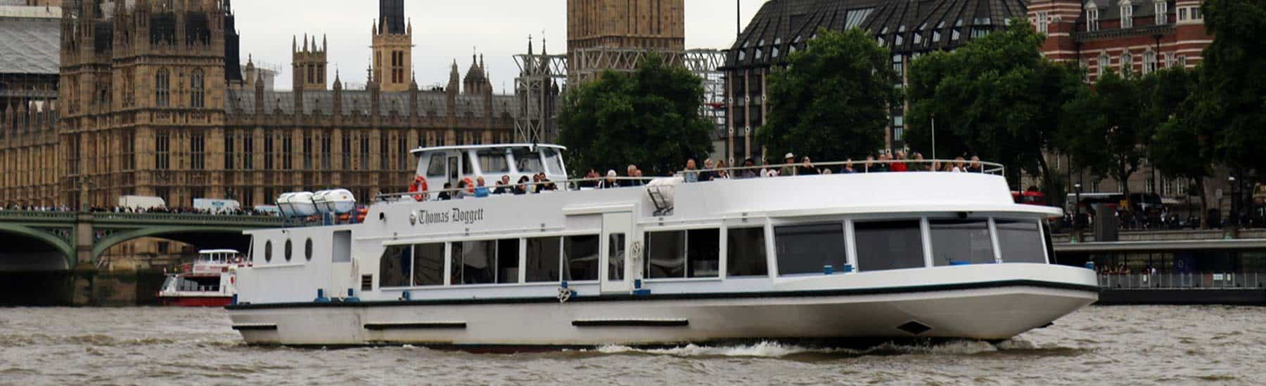 Our Fleet, M.V Thomas Doggett at Westminster