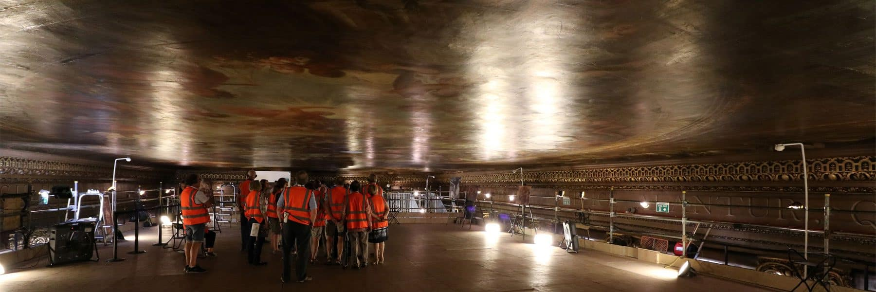 Painted Hall Ceiling Tours, Old Royal Naval College, Royal Borough of Greenwich