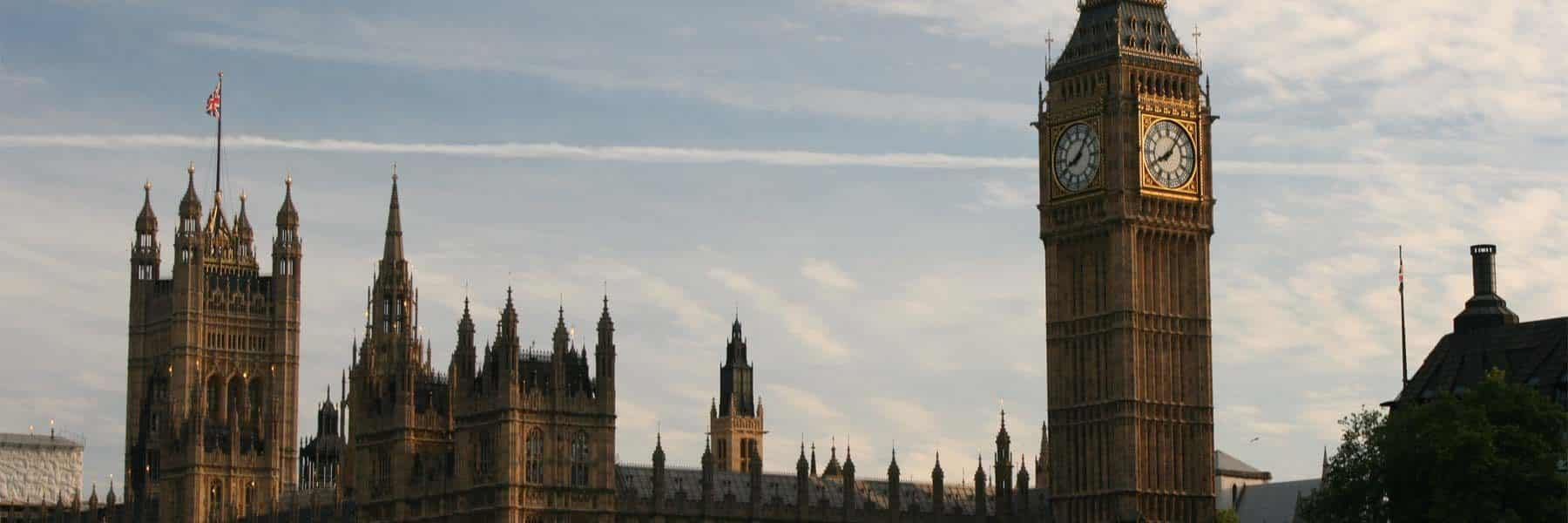 The New Palace of Westminster (Houses of Parliament)
