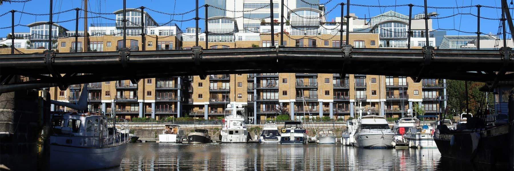 Telford Bridge, St. Katharine Docks