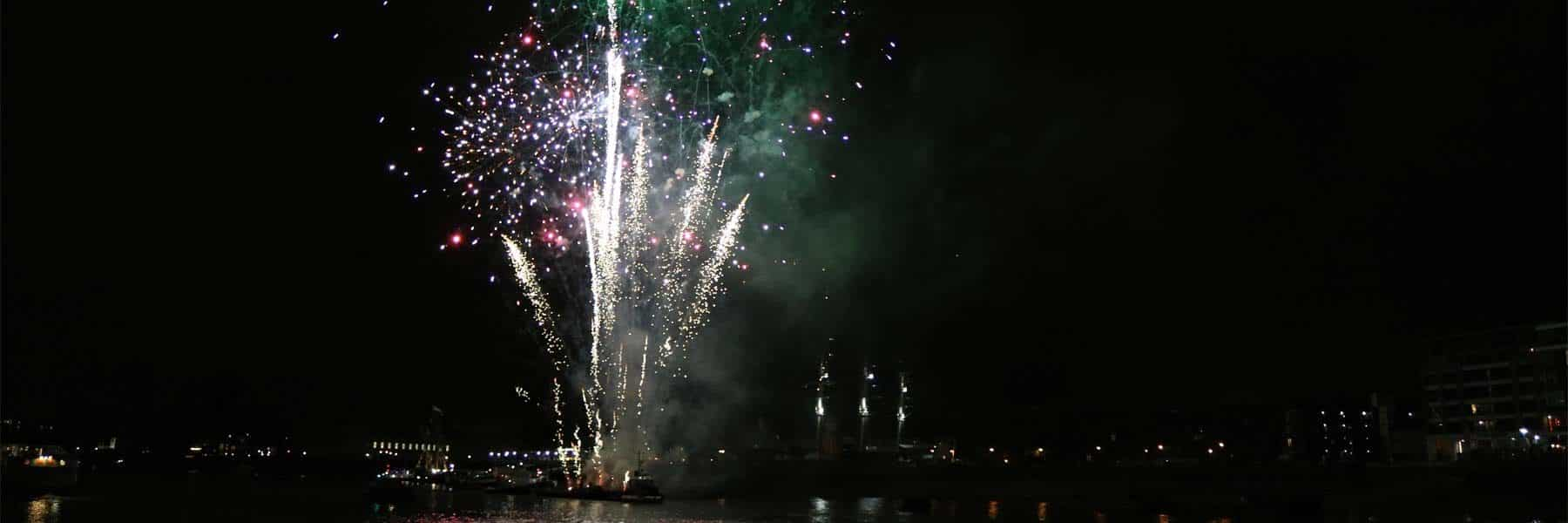 Tall Ships Fireworks Display